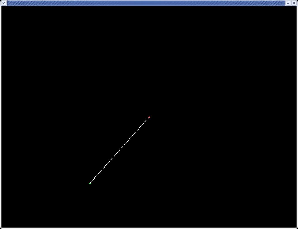 Line Drawing Using Dda Algorithm In C : Labbar i datorgrafik